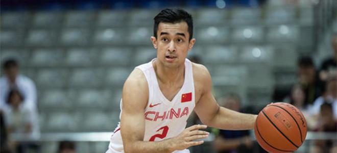国奥队后卫阿尔斯兰上调至中国男篮蓝队