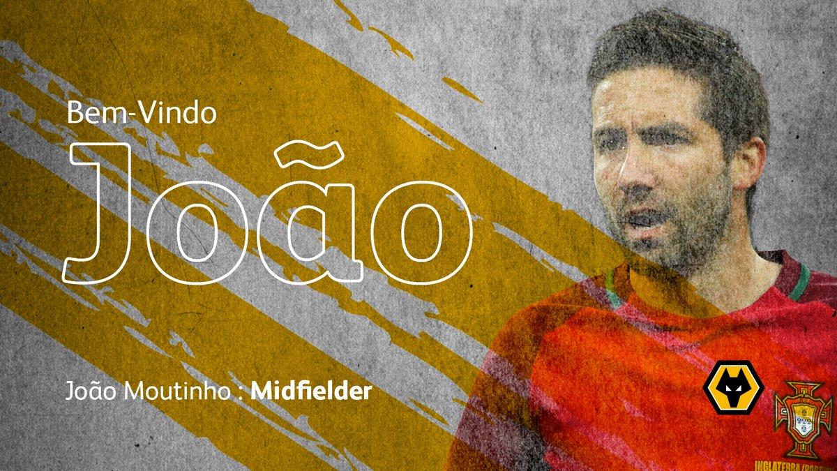 官方:狼队与葡萄牙中场若昂-穆蒂尼奥签约两年