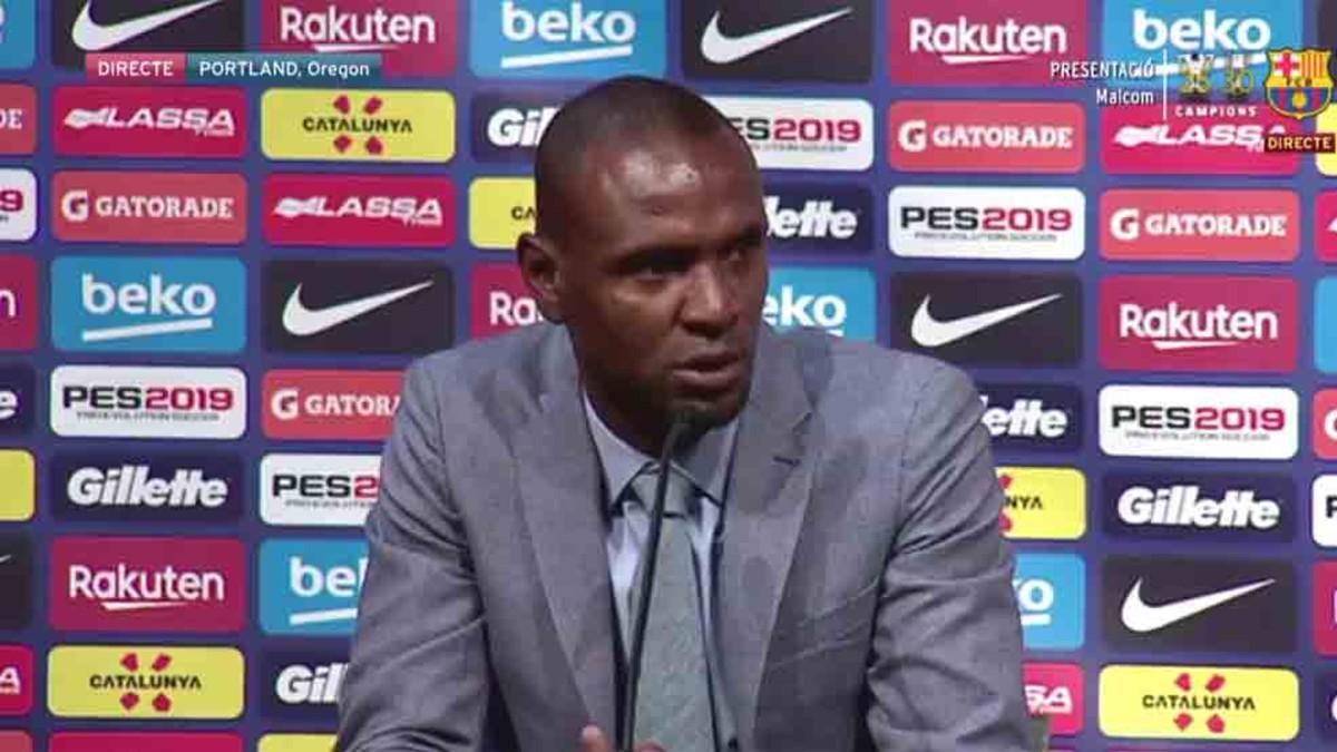 阿比达尔:马尔科姆可以适应球队,他的到来不意味着登贝莱离开