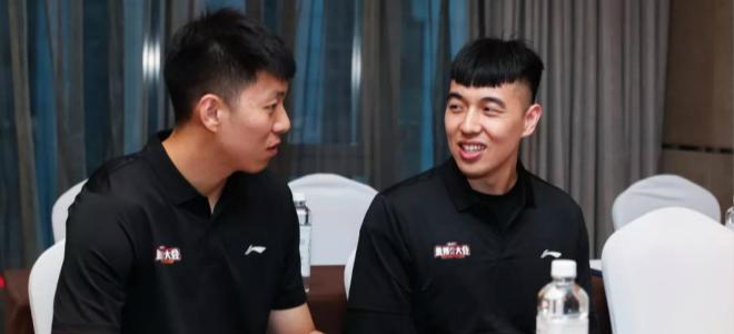 李敬宇、曾令旭寄语选秀球员:要有一颗想赢的心
