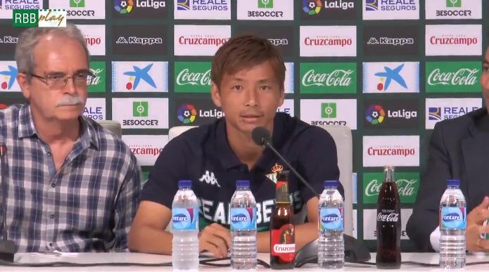 乾贵士:虽然我的西语不好,但是足球的语言不需要翻译
