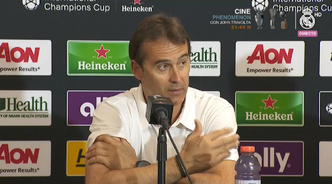 洛佩特吉:我对于皇马目前拥有的阵容很满意