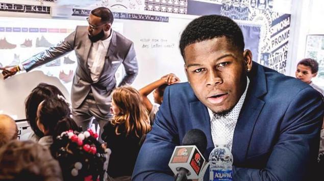 克利夫兰NFL球员:勒布朗为运动员做出了表率