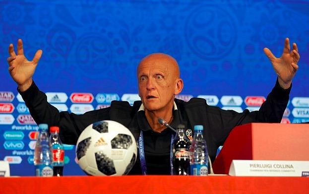 官方:科里纳因个人原因辞去欧足联裁判委员会主席