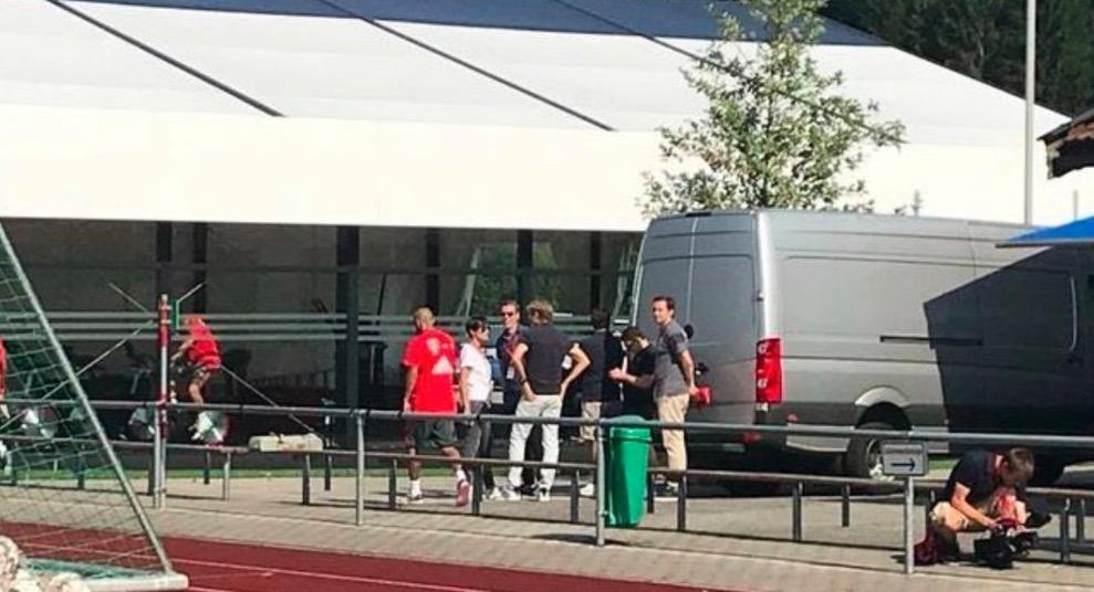 Sport1:比达尔离开拜仁训练场