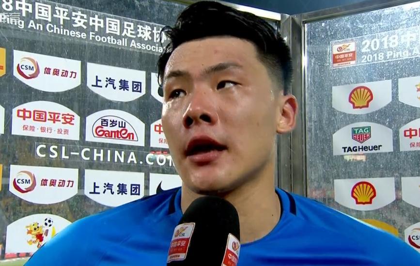 王大雷:球队比较疲劳,能拿到1分很开心