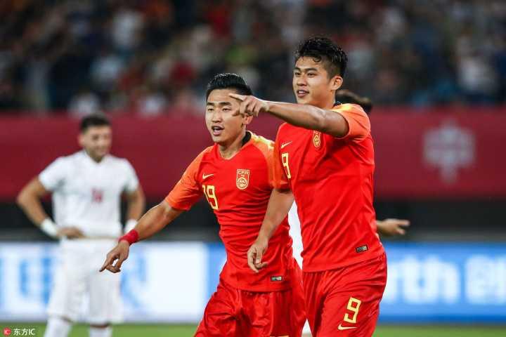 U23国足热身:张玉宁破门高准翼乌龙,中国3-2伊朗