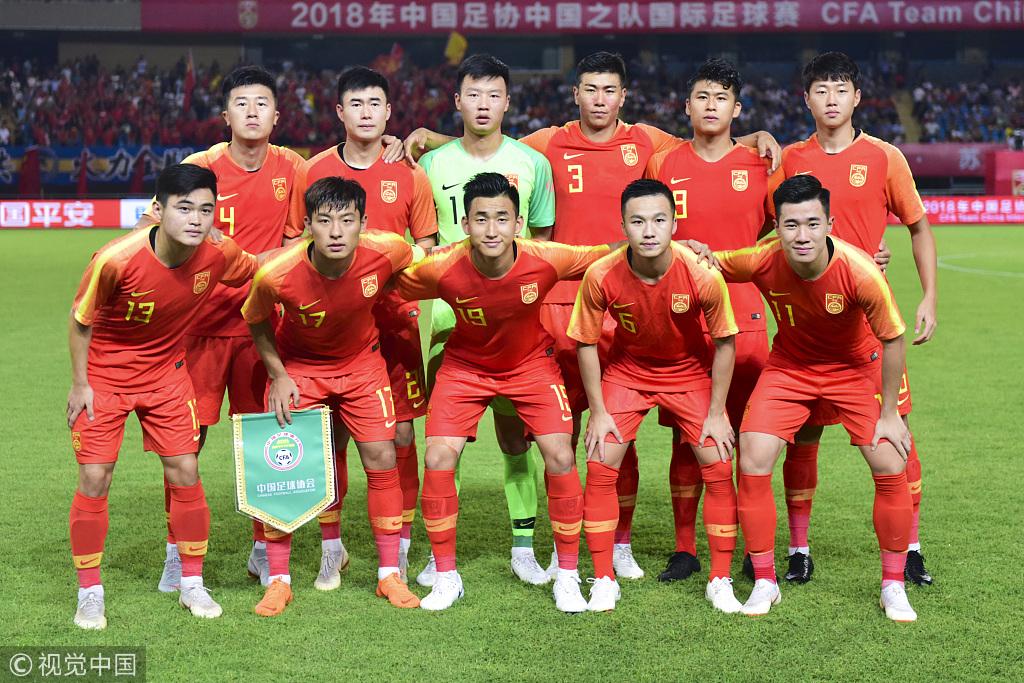 中国之队确认U23亚运名单:徐友刚、龙成、周煜辰入选
