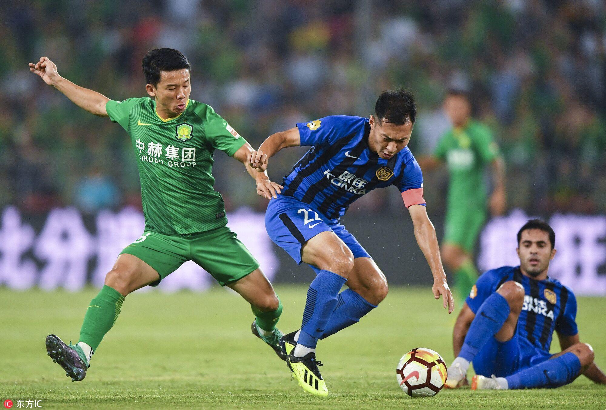 半场:张稀哲破门奥古斯托助攻,国安1-0苏宁