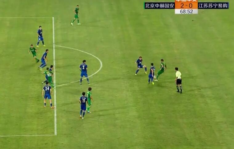GIF:奥古斯托传球,索里亚诺越位进球无效