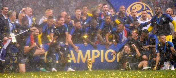 庆祝法国夺冠,大力神杯将在法甲前四轮巡游