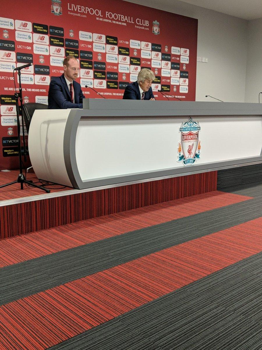 佩工:对阵利物浦, 赛前、赛中和赛后都很困难