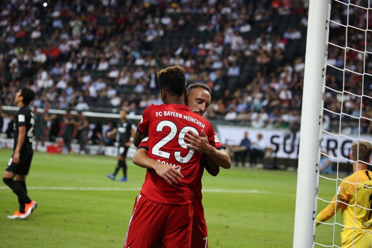 GIF:蒂亚戈破门,拜仁大比分保持领先