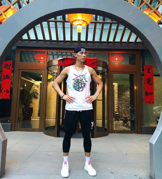 我了回来林书豪感慨北京酷热北京炎天