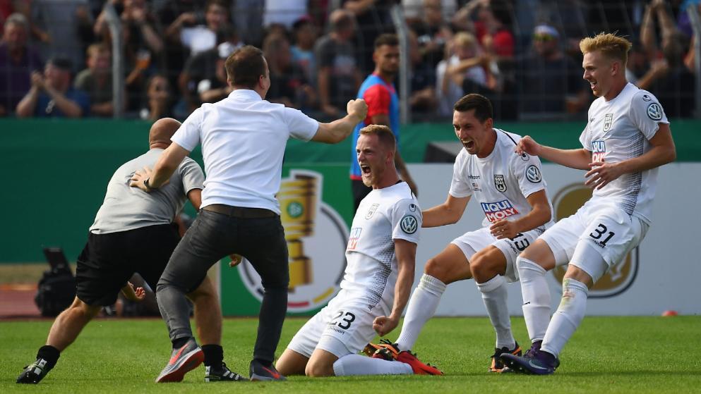 爆冷!德国杯卫冕冠军首轮即遭淘汰