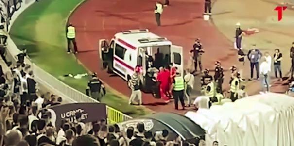 60岁球迷看到主队被扳平后心脏病发, 尚未脱离生命危险