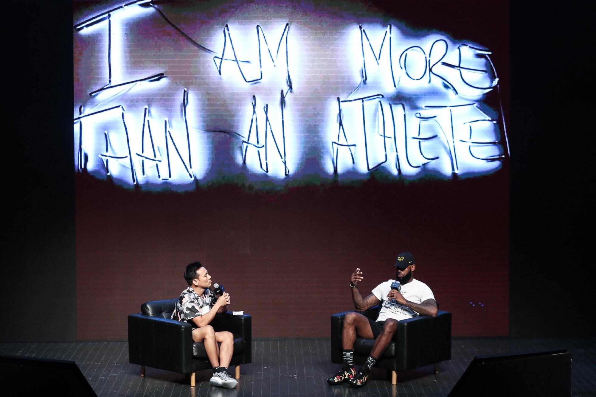詹姆斯谈篮球和电影:我们不只有一个角色