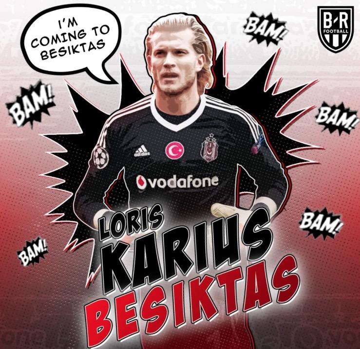 官方:利物浦门将卡里乌斯租借加盟贝西克塔斯两年