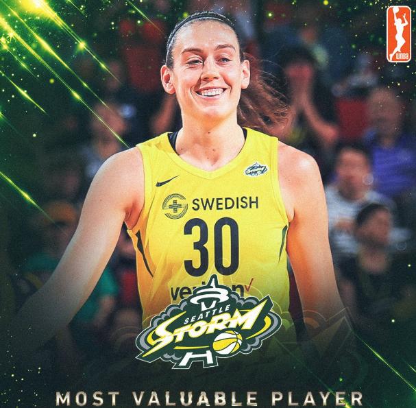 杜兰特恭喜斯图尔特当选WNBA常规赛MVP