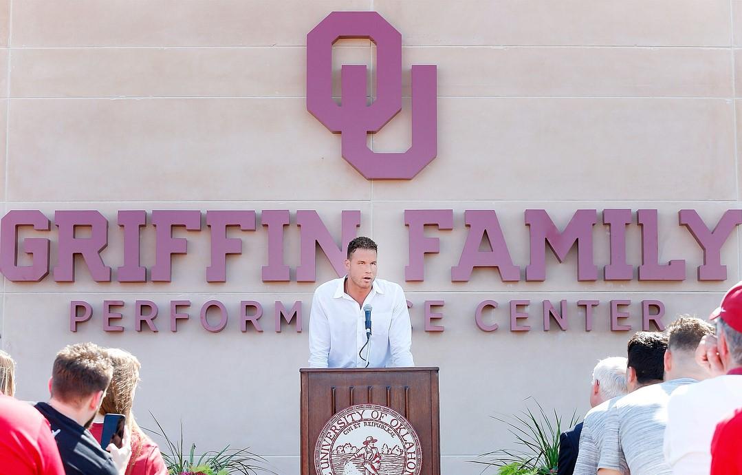 格里芬谈格里芬家族表演中心:这对我来说意味着很多