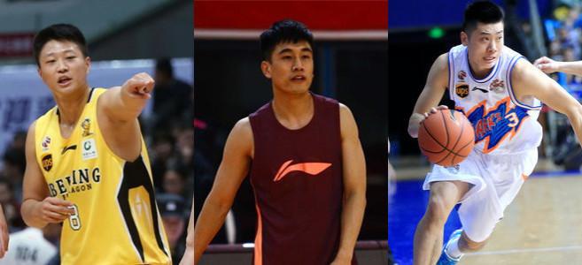 滕贺麒、孙伟博、任鹏鹏为山西队出战热身赛