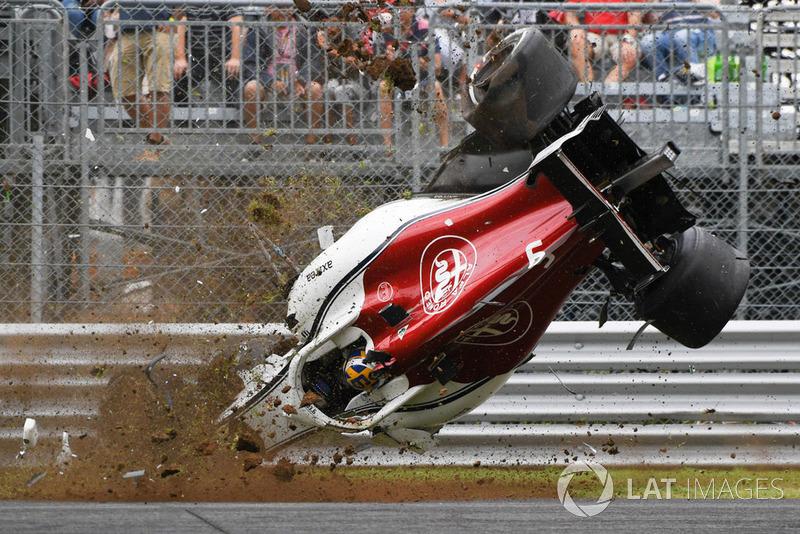 蒙扎二练:维特尔封顶,埃里克森遭遇严重撞车