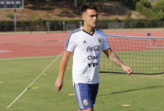 官方:劳塔罗左小腿旧伤未愈,无缘阿根廷接下来的比赛