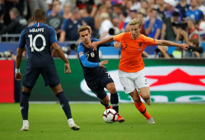演出荷兰正式竞赛首秀,德容:和强手过招对我只要优点
