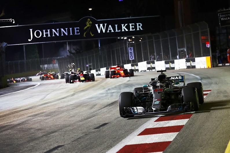 新加坡赛后:汉密尔顿Pole to Win!维斯塔潘、维特尔二三