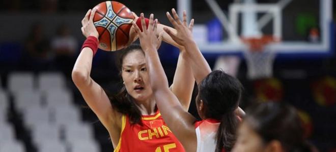 孙梦然 18+  6, 中国热身赛击败日本