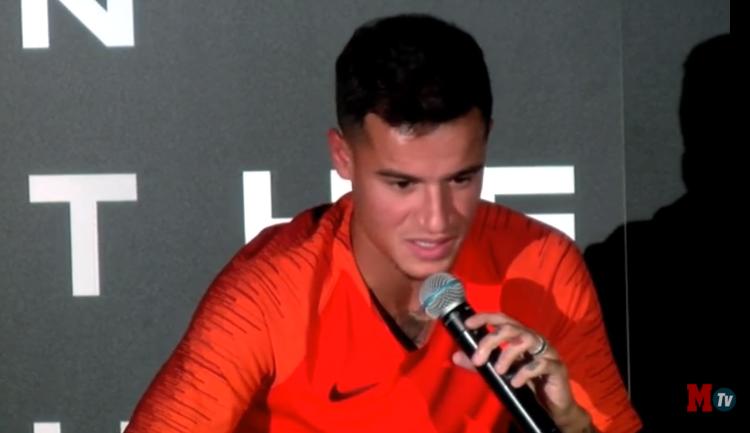 库蒂尼奥:巴萨的目标就是将欧冠冠军带回诺坎普