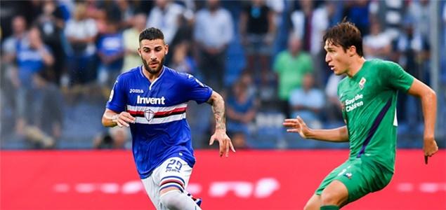意甲:小西蒙尼破门卡普拉里扳平, 桑普 1-  1佛罗伦萨