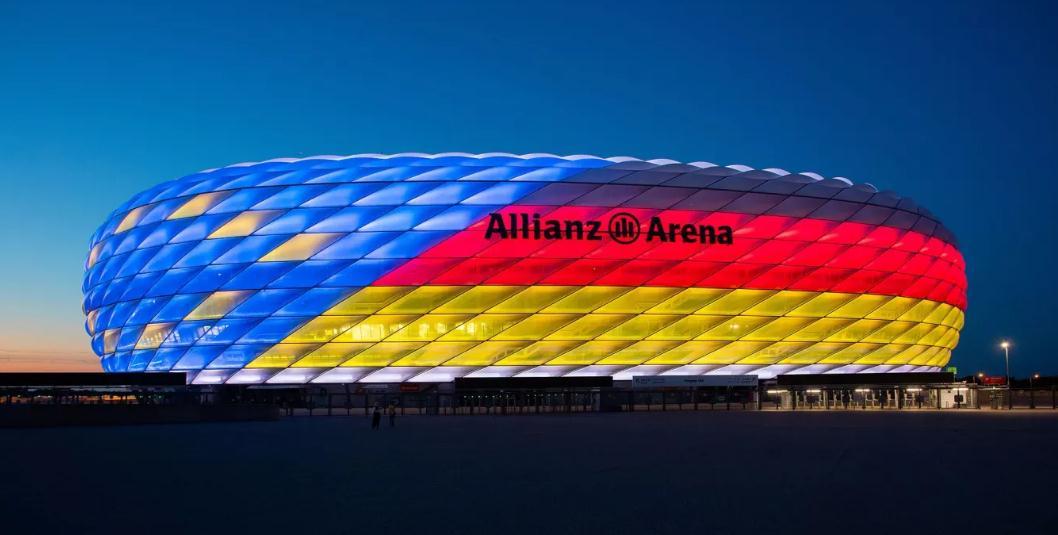 全力支持申办欧洲杯!安联球场将点亮国旗