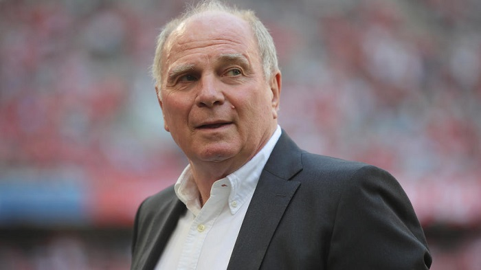 赫内斯:根据的现状, 让他们主办欧洲杯是不负责任的