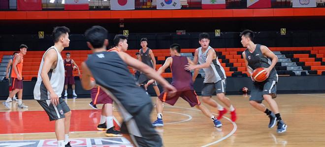 辽篮亚冠赛前首次训练, 年轻队员感受大赛气氛