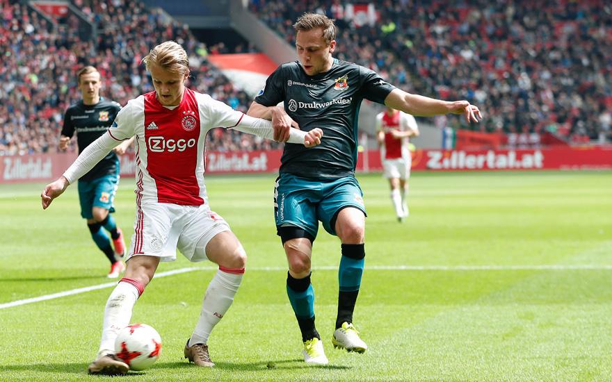 荷兰杯次轮阿贾克斯对阵前进之鹰
