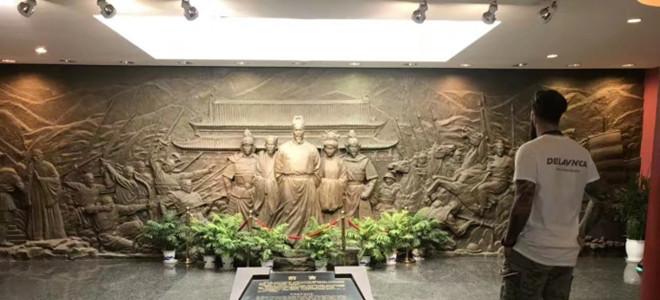 老外如何过国庆?拉杜利察游览南京当地著名景点
