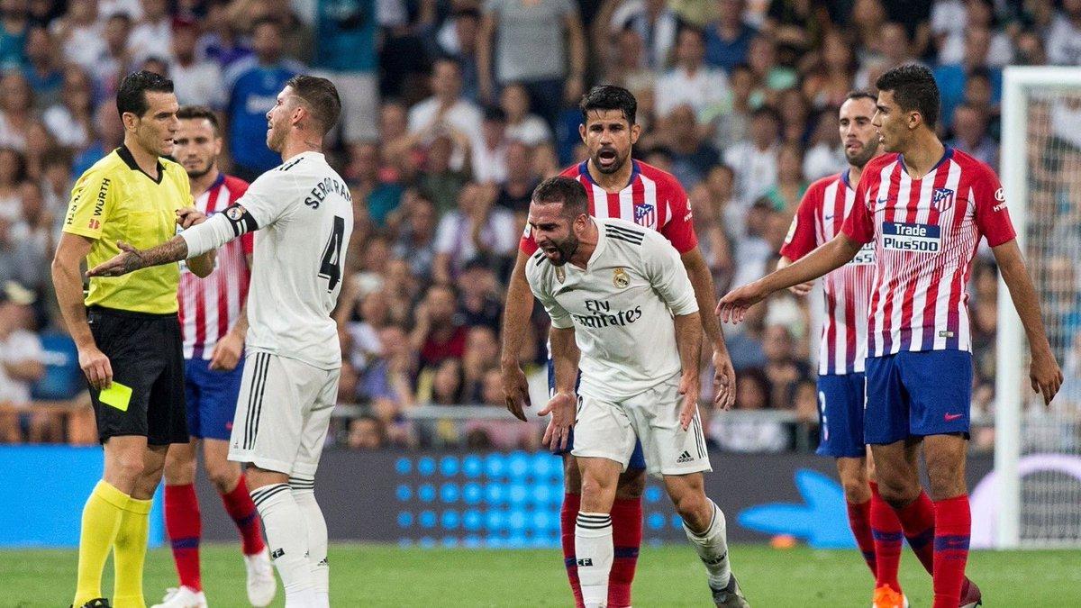 官方:足协驳回对卡瓦哈尔在马德里德比中黄牌的上诉