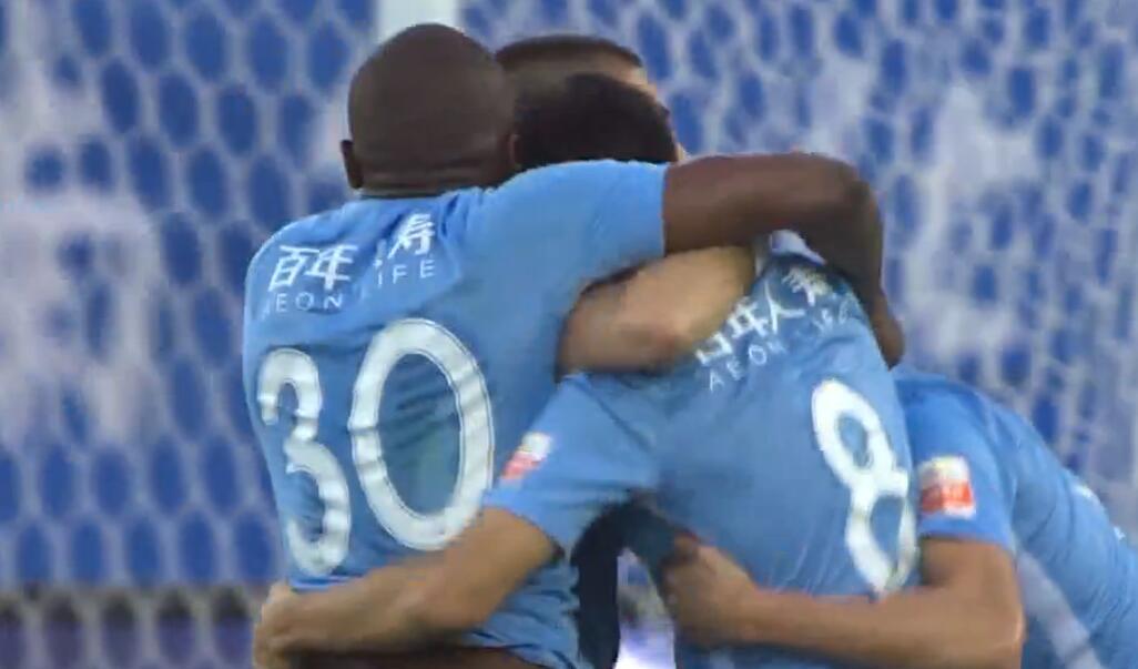GIF:朱挺人球分过助攻,穆谢奎破门,一方3-1苏宁