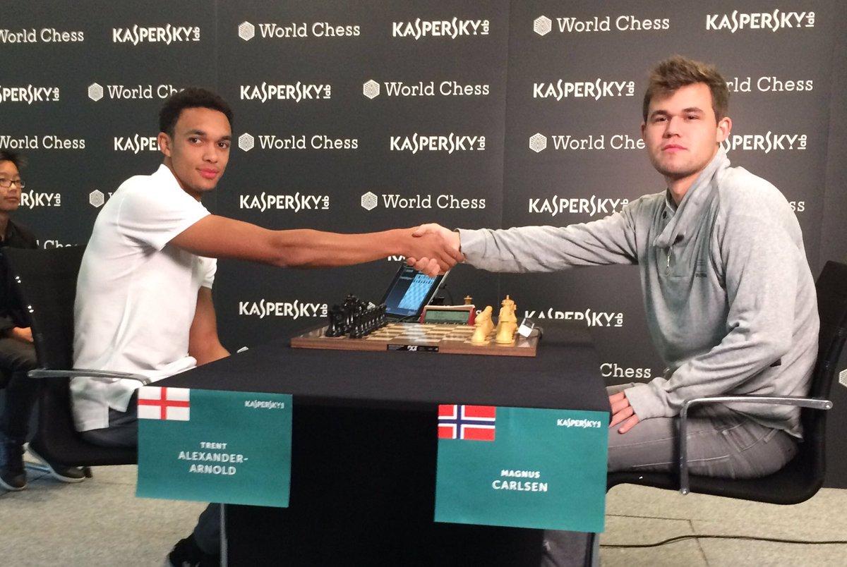 脆败!阿诺德挑战国际象棋冠军17步就告失利