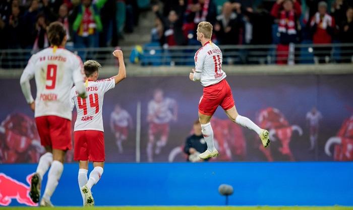 莱比锡6球大胜,创队史德甲赢球纪录