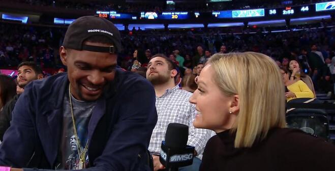 波什:必须要提醒人们我还没退役,篮球在我心里