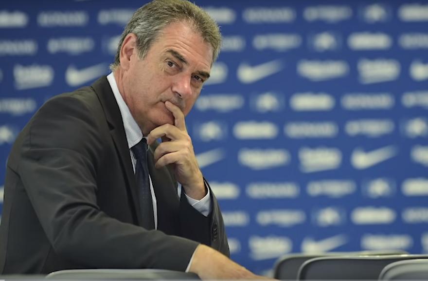 巴萨总经理:比达尔应尊重队友和教练,我认为他会改正的