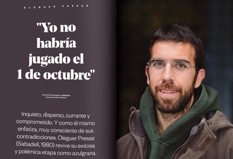 前巴萨后卫奥莱格:不想代表西班牙,西班牙国家队令我厌恶