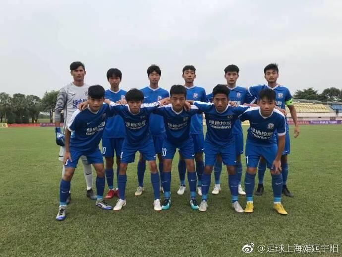 陈申吉角球破门,申花2-1胜梅州客家夺青超U17冠军