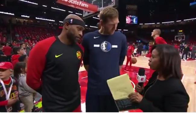 诺维茨基和卡特谈高龄征战NBA:只是因为热爱