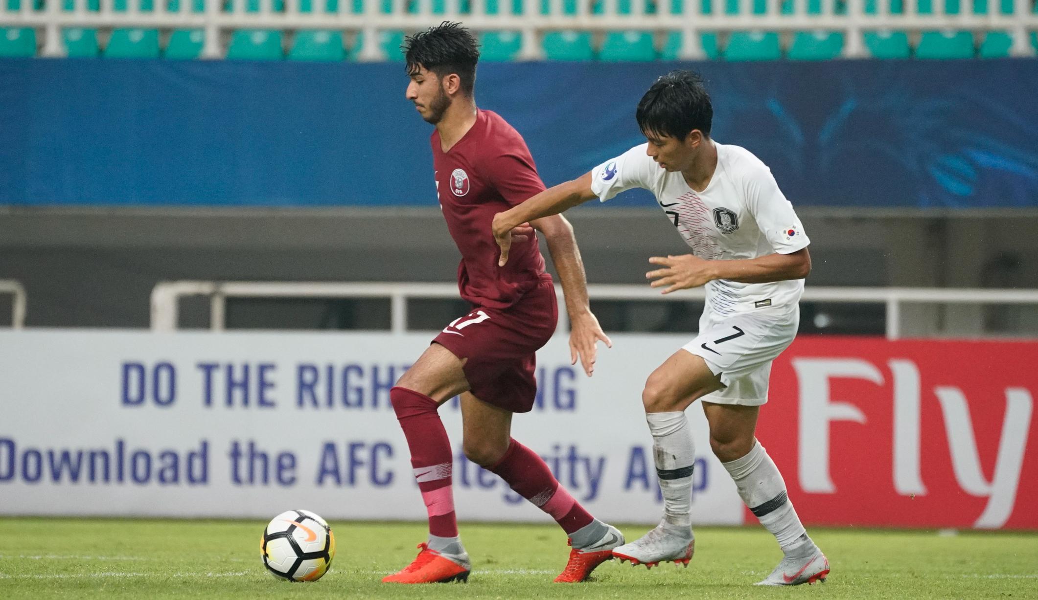 亚青赛:韩国、沙特阿拉伯会师决赛