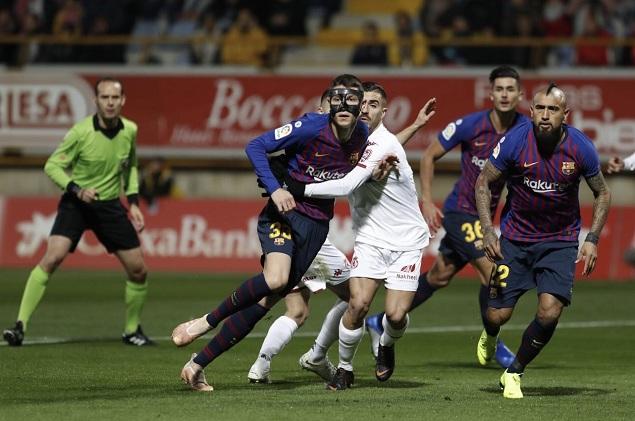 国王杯:朗格莱补时头球绝杀,巴萨客场1-0莱昂占先机