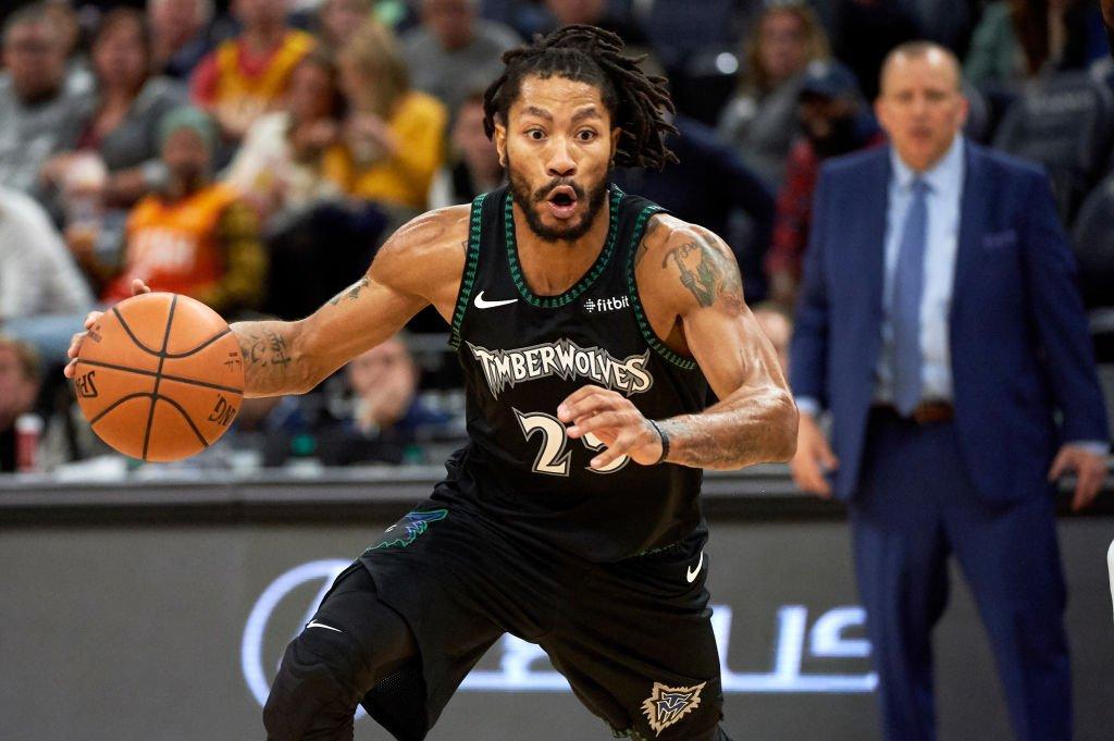 罗斯本场比赛34次突破,NBA过去两个赛季单场比赛最高
