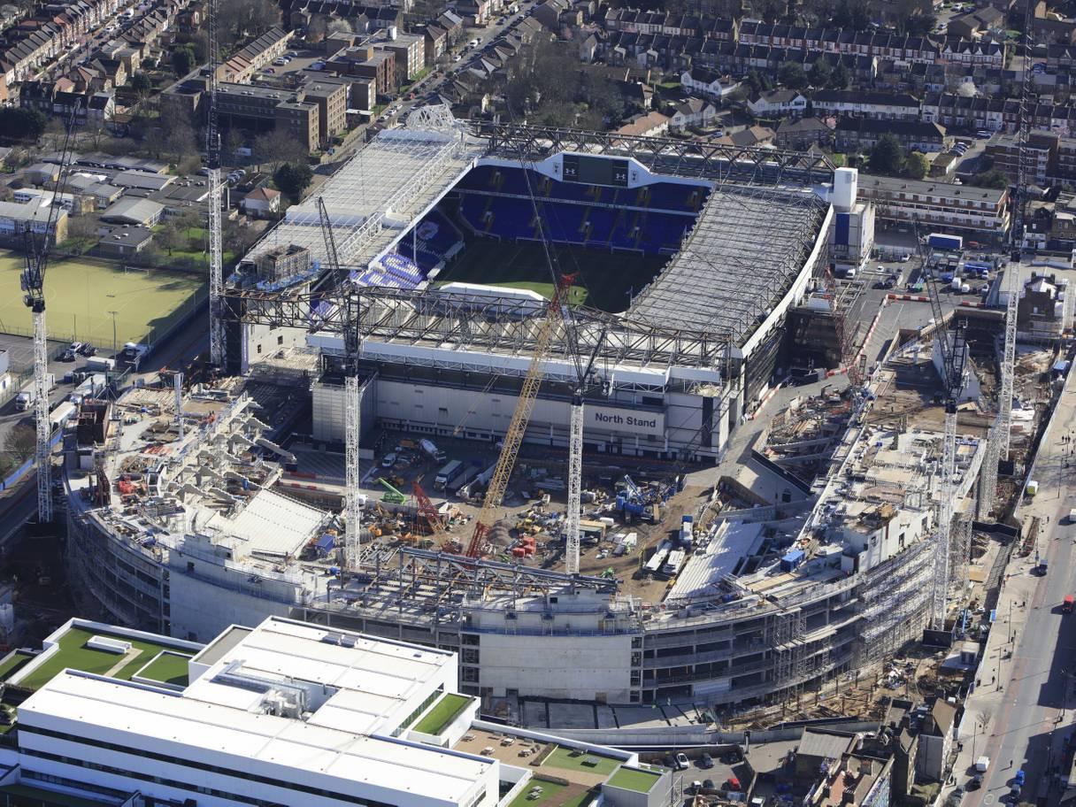 新球场工期推迟,热刺欲再借2亿英镑修建新球场